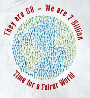 Sie sind G8, wir sind 7 Milliarden