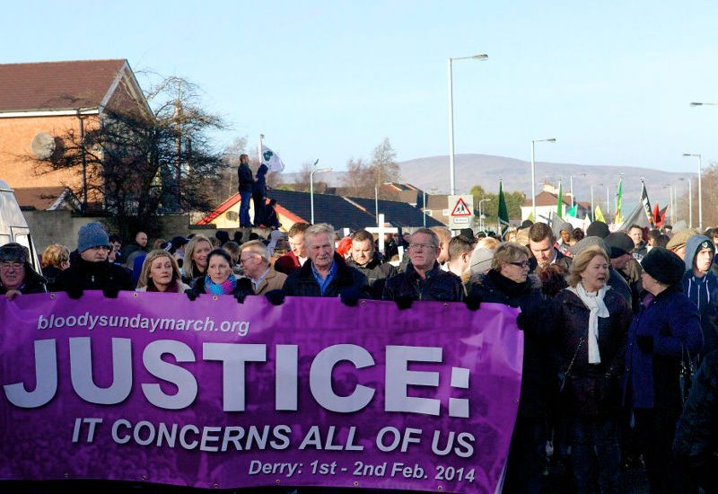 Bloody Sunday March 2014, Derry