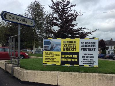 Irische Grenzgemeinden gegen den Brexit