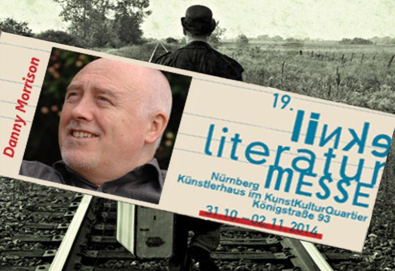 Danny Morrison auf der Literaturmesse Nürnberg (2014)