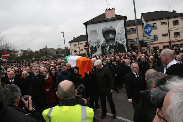 Begräbnis von Martin McGuinness