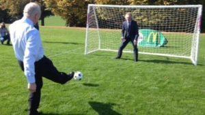 Martin McGuinness - Fußball war nicht seine Stärke