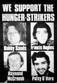 Poster - im Hungerstreik