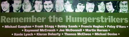Erinnerung an die Hungerstreikenden