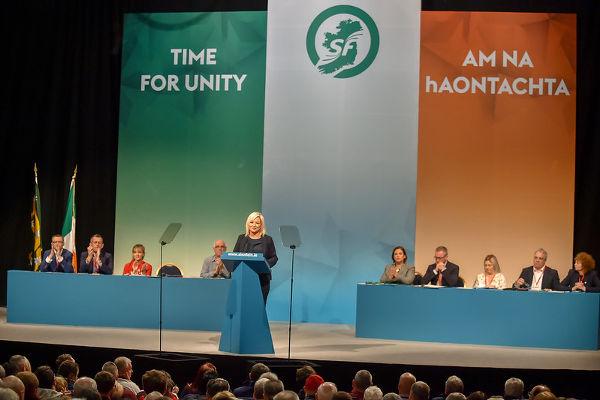 Sinn Féin Ard Fheis (Parteitag) 2019